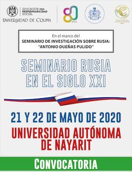 Convocatoria para ponencias al Seminario Rusia en el Siglo XXI