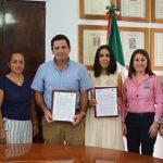 Firma de convenio con Ayuntamiento Colima