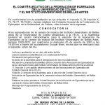 Convocatoria Asociación de Egresados de Música IUBA
